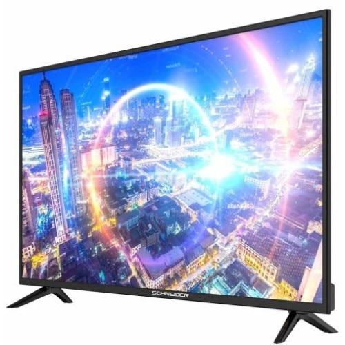 Televizor LED Schneider 39-SC410K, 98 cm, HD Ready, Negru, Clasa A 1