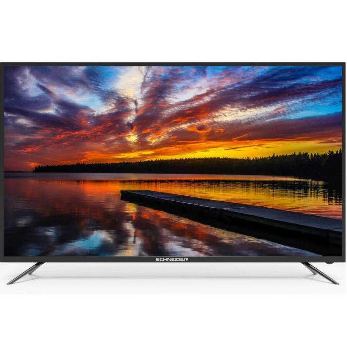 Televizor LED Schneider 50SC670K, Smart, 126 cm, Ultra HD, 4K, Negru 0