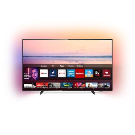 Televizor LED Smart Philips, 108 cm, 43PUS6704, 4K Ultra HD 10