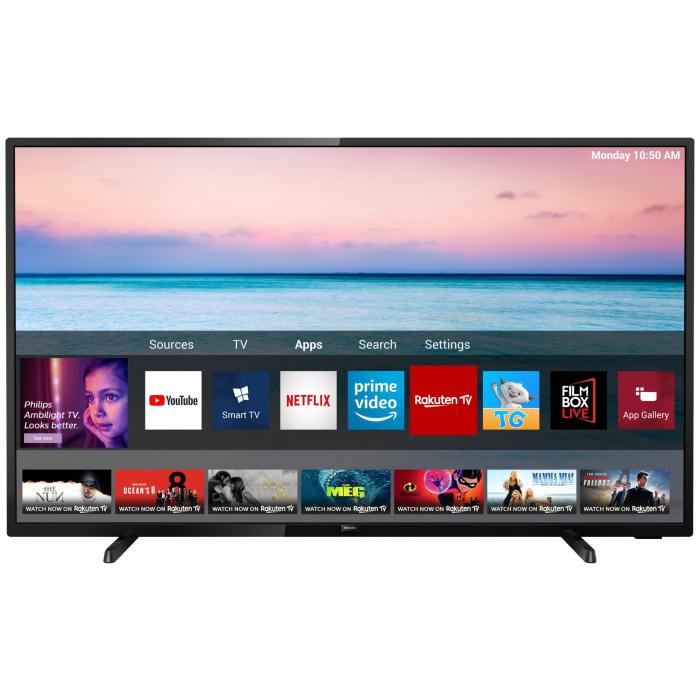Televizor LED Smart Philips, 126 cm, 50PUS6504/12, 4K Ultra HD 0