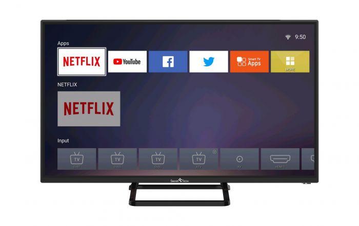 Televizor LED Smart,Smart Tech,HD,Negru SMT32P18SLN83 0
