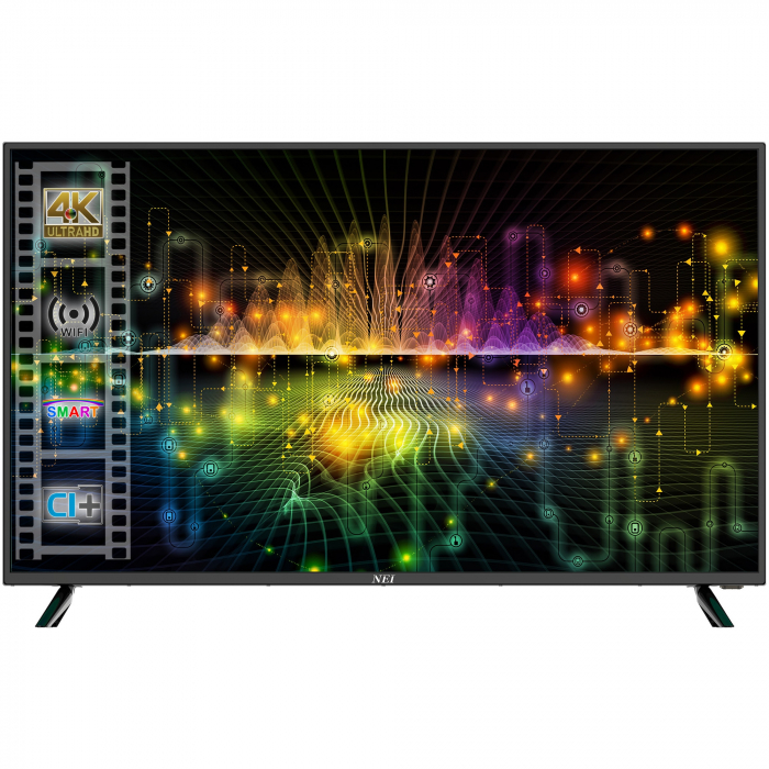 Televizor Nei 40NE6700, 100 cm, Smart, 4K Ultra HD, LED, Clasa G [0]