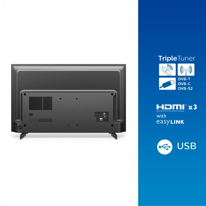 Televizor Philips 32PFS6805/12, 80 cm, Smart, Full HD, LED, Clasa F [8]