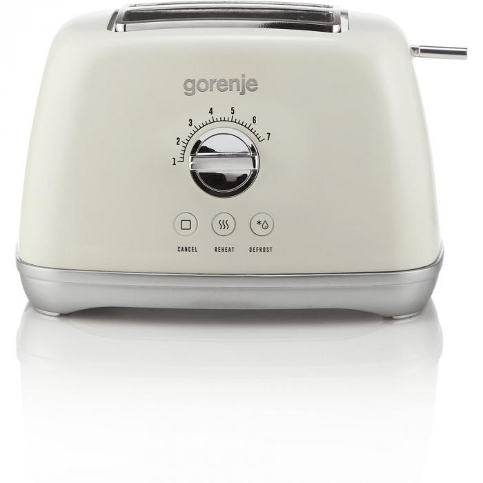 Toaster Gorenje T900RL, 1000W, Bej 0