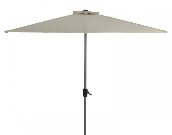 Umbrela de gradina Blooma Pali 242 x 228 x 124 cm taupe [0]