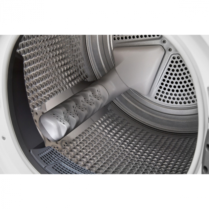 Uscator de rufe Whirlpool Supreme Care STU92XEU, Pompa de caldura, 9 kg, Clasa A++, Motor Inverter, 6th Sense, Display digital, Alb [7]