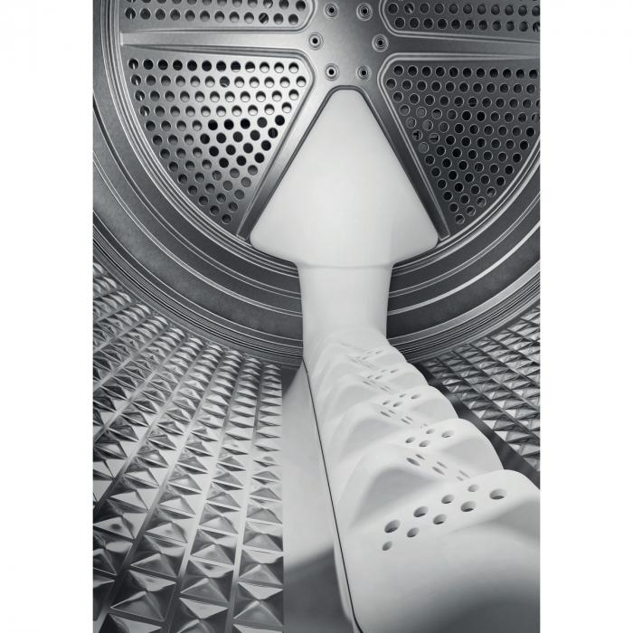 Uscator de rufe Whirlpool Supreme Care STU92XEU, Pompa de caldura, 9 kg, Clasa A++, Motor Inverter, 6th Sense, Display digital, Alb [8]