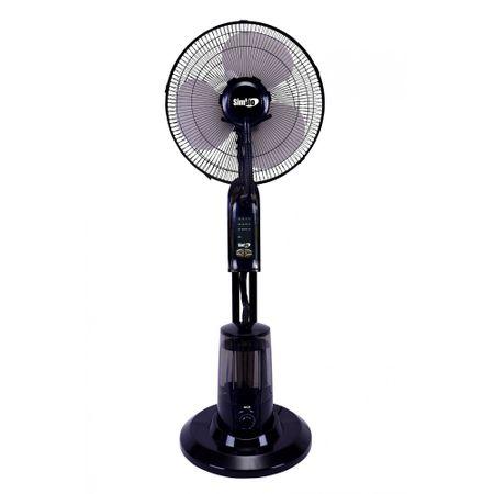 Ventilator cu pulverizare apa SIMBIO SI4005 45W Rezervor 3.2L Telecomanda IP11 Negru