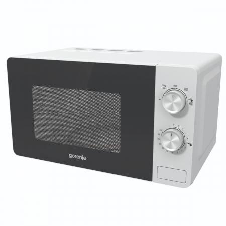Cuptor cu microunde Gorenje MO17E1W, Putere 700 W, Functie decongelare, Alb [2]