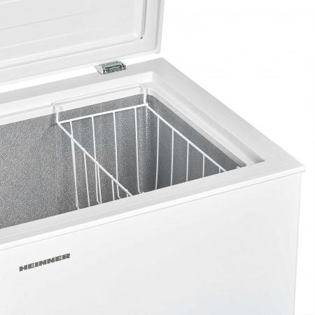 Lada frigorifica Heinner HCF-H98A+, 95 l, Control mecanic, Clasa A+, Alb4