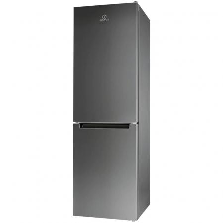 Combina frigorifica Indesit XIT8 T1E X, 320 l, Clasa A+, No Frost, H 189 cm, Inox0