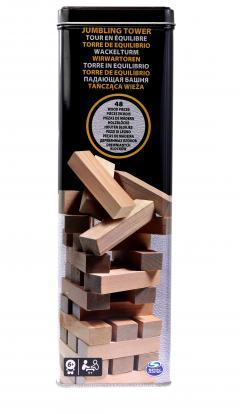 Joc - Spin Master Wooden Jumbling Tower [1]