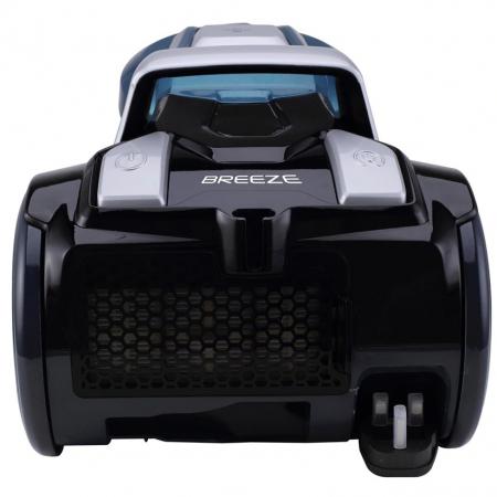 Aspirator fara sac Hoover Breeze BR71BR30011, 700W, 2 L, Filtru Lavabil EPA, Roata Frontala Rotativa 360° , Negru / Albastru1