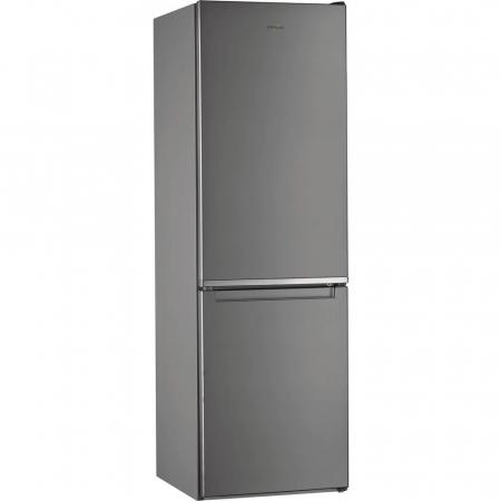 Combina frigorifica Whirlpool W9 821C OX, 318 l, Clasa A++, Dual No Frost, 6th Sense, Display Electronic Interior, H 189 cm, Inox0