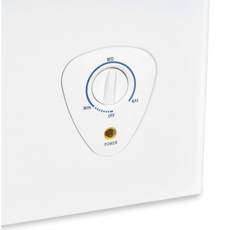 Lada frigorifica Heinner HCF-H98A+, 95 l, Control mecanic, Clasa A+, Alb3