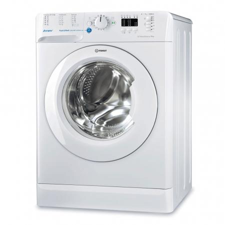 Masina de spalat rufe Indesit BWA 71252 W EU, 7 kg, 1200 rpm, Clasa A++, Innex Push & Wash, Alb0