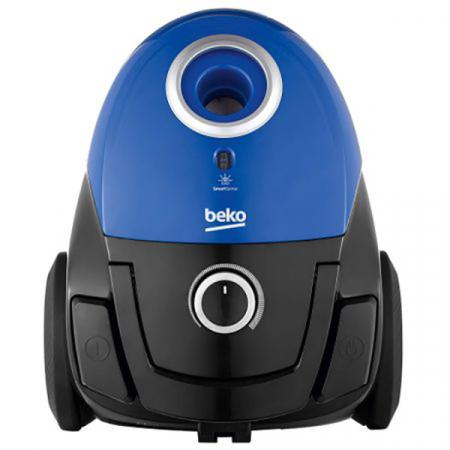 Aspirator cu sac Beko VCC34803AD, 800W, Filtru Hepa 12, Putere variabila, Perie Turbo, Albastru