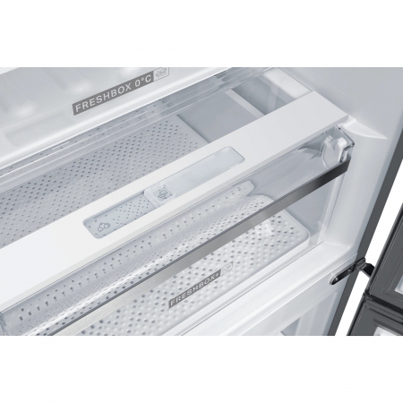 Combina frigorifica Whirlpool W9 821C OX, 318 l, Clasa A++, Dual No Frost, 6th Sense, Display Electronic Interior, H 189 cm, Inox3