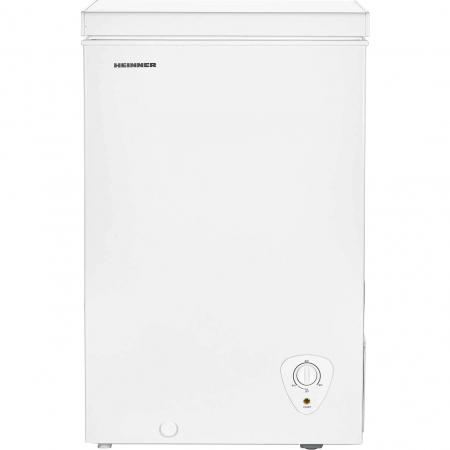 Lada frigorifica Heinner HCF-H98A+, 95 l, Control mecanic, Clasa A+, Alb0