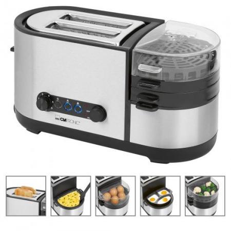 Set mic dejun TAM3688 Clatronic, Toaster + prajitor oua [1]