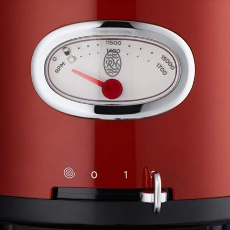 Robot de Bucatarie Russell Hobbs Retro Ribbon Red 25180-56, 850 W, 2.3 l, Blender 1.7 l, Rosu [1]