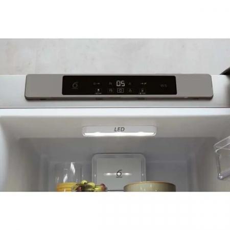 Combina frigorifica WHIRLPOOL W5 921C OX H, Direct Cool, 371 l, 201.1 cm, A+, inox4