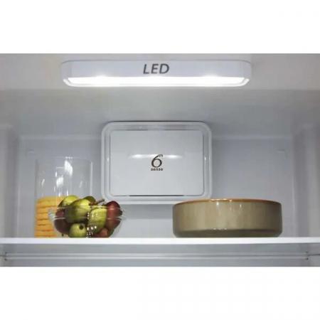 Combina frigorifica WHIRLPOOL W5 921C OX H, Direct Cool, 371 l, 201.1 cm, A+, inox5