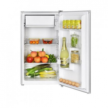 Frigider cu o usa Heinner HF-N91SA+, 91 l, Clasa A+, Iluminare LED, Compartiment legume & fructe, Inox1