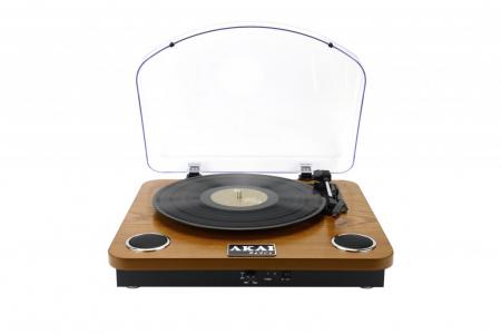 Pick-up AKAI ATT-11BT, stereo, difuzoare incorporate, Bluetooth, RCA, USB, SD Card0