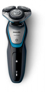 Aparat de ras Philips S5400/26, Lame Multiprecision, LED, Docking de curatare, Acumulator, 3 capete, Rotire in 5 directii, Trimmer, Negru5