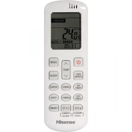 Aer conditionat HISENSE Comfort, 12000 BTU, A++/A+, Kit instalare inclus, Wi-Fi, alb5