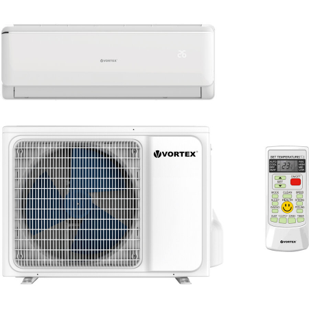 Aparat de aer conditionat Vortex VAI0920FFWR 9.000 BTU Clasa A++, kit instalare inclusv, R32 Inverter Alb0