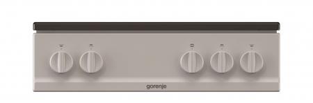 Aragaz pe gaz cu cuptor pe gaz Gorenje G5111SJ, Clasa energetica A, Gratar de inox, Gri metalic4