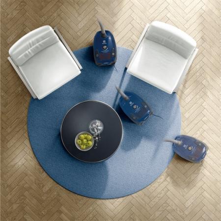 Aspirator cu sac Electrolux EPF62IS, 700W, Clasa A, filtru H12 lavabil, perie Parketto, Albastru [4]