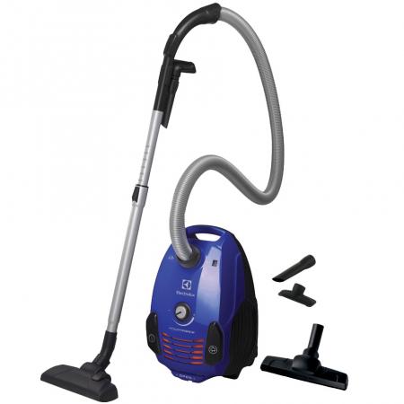 Aspirator cu sac Electrolux EPF62IS, 700W, Clasa A, filtru H12 lavabil, perie Parketto, Albastru [0]