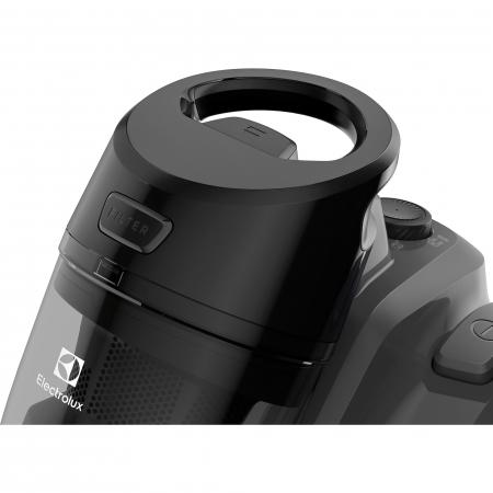 Aspirator fara sac Electrolux Ease C4 3A EC41-4T, 700 W, Clasa A, 1.8 L, Filtre lavabile, Perie parchet, Negru3