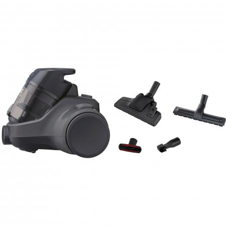 Aspirator fara sac Electrolux Ease C4 3A EC41-4T, 700 W, Clasa A, 1.8 L, Filtre lavabile, Perie parchet, Negru1