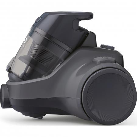 Aspirator fara sac Electrolux Ease C4 3A EC41-4T, 700 W, Clasa A, 1.8 L, Filtre lavabile, Perie parchet, Negru2
