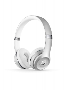 Casti audio cu banda Beats Solo 3 by Dr. Dre, Wireless, Silver3