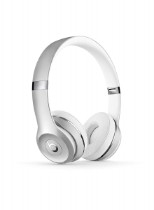 Casti audio cu banda Beats Solo 3 by Dr. Dre, Wireless, Silver0