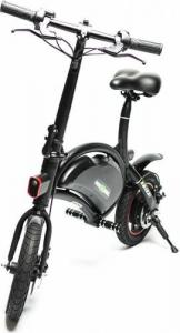 Bicicleta electrica FreeWheel Ebike 1, Baterie LG, viteza 30 Km/h, Autonomie 40-50 km, Motor 250W, Roti 12 inch, Negru4