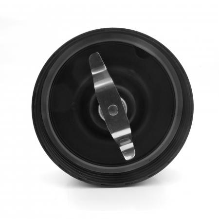 Blender Heinner HSB-1000, 1000 W, 2 recipiente 0.5 l + 1 l, 2 viteze, Pulse, Negru/Inox [3]