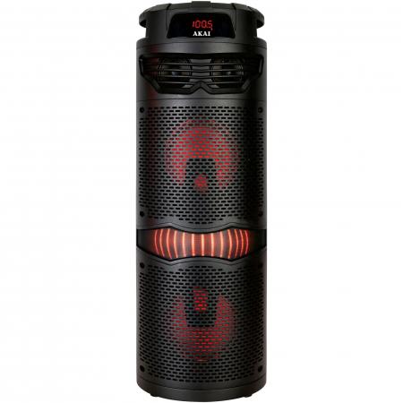 Boxa portabila activa, AKAI ABTS-636, Bluetooth 5.0, 40W, Radio FM3
