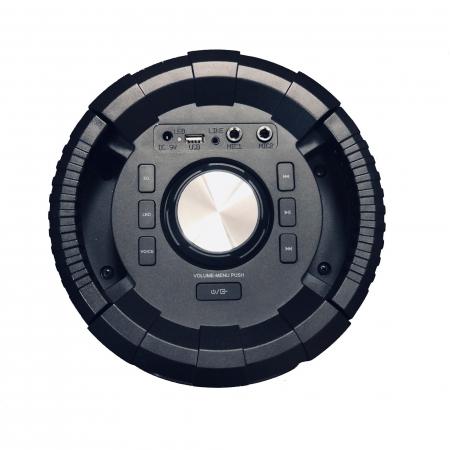 Boxa portabila activa, AKAI ABTS-636, Bluetooth 5.0, 40W, Radio FM5