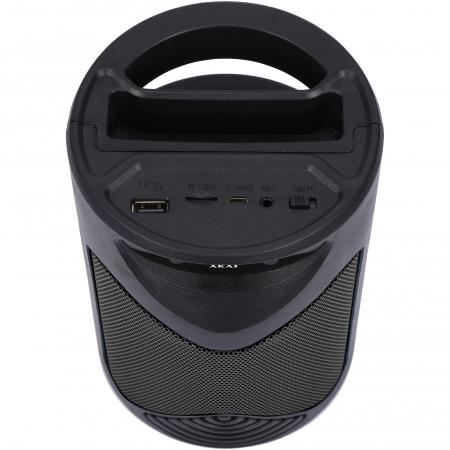 Boxa portabila activa, AKAI ABTS-704, Bluetooth 4.2, Radio FM2