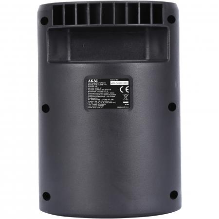 Boxa portabila activa, AKAI ABTS-704, Bluetooth 4.2, Radio FM3