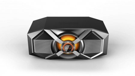 Boxa Audio Portabila Akai , Putere Totala 240 W , Conectare prin Functia Bluetooth , Port USB 2.0 , Intrare Auxiliara 3.5 mm , Alimentare prin Acumulator USB , Culoare Negru [0]