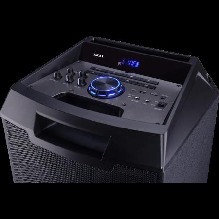 Boxa portabila Akai ABTS-AW12 cu BT, lumini disco, functie inregistrare, microfon5