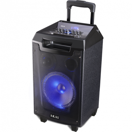 Boxa portabila Akai ABTS-AW12 cu BT, lumini disco, functie inregistrare, microfon4