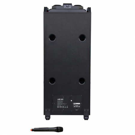 Boxa portabila Akai, ABTS-T1203, 90W, Bluetooth, Karaoke, Radio, Negru1